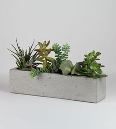 Concrete Windowsill Planter by Roughfusion on Scoutmob Shoppe