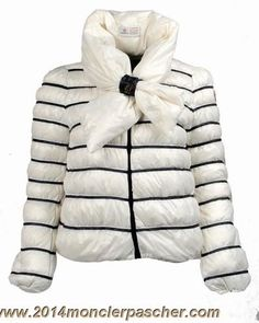 600116f5af29 Moncler Women Down Jacket Butterfly Collar White -   off discount code   happywinter