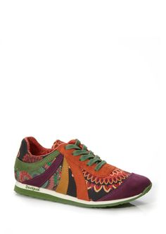 DESIGUAL Lace-Up Low Top Sneaker