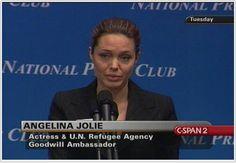 Angelina Jolie, Founder and Co-Chair, Jolie-Pitt Foundation
