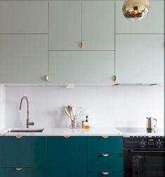 Design Aspects To Consider In Contemporary Kitchen Renovation 00007 - homeknicknack Ikea Kitchen Design, Best Kitchen Designs, Kitchen Decor, Diy Kitchen, Kitchen Cabinets Color Combination, Kitchen Cabinet Colors, Home Design, Design Ideas, Interior Design