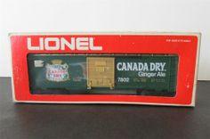 New? Lionel 6-7802 Canada Dry/Ginger Ale Billboard Boxcar
