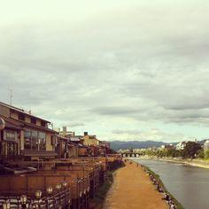 Kyoto,鴨川