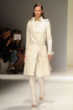93e8eb6fcd29 Design Chic - love this Ferragamo trench coat The Immaculate Collection