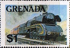 Grenada 1975 SG 1216 Trains of the World Fine Mint Scott 1124 Other West Indies and British Commonwealth Stamps HERE!