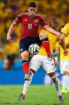 #YoCreo Las mejores fotos del partido entre la selección #Colombia y #Brasil #Brasil2014 #MundialBrasi2014