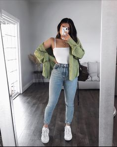Trendy Fall Outfits, Winter Fashion Outfits, Retro Outfits, Cute Casual Outfits, Simple Outfits, Look Fashion, Stylish Outfits, Baddie Outfits Casual, Casual School Outfits