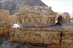 """The ancient Buddhist site called """"Mes Aynak"""" located in Afghanistan"""
