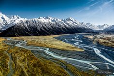 Mont Cook range and Hooker Valley (New Zealand) by Tristan Shu on 500px