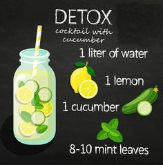 These 6 detox water ingredients will have you well on your way to beautiful and glowing skin. Plus, the flavor they add to your water is amazing! Low Carb Wraps, Body Detox Cleanse, Full Body Detox, Health Cleanse, Detox Drinks, Healthy Drinks, Superfood, Smoothies, Smoothie Detox