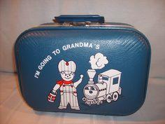 """I'm Going To Grandma's"" Kid's Luggage"