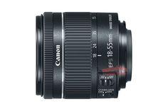 Стали известны основные данные объектива Canon EF-S 18-55mm f/4-5.6 IS STM