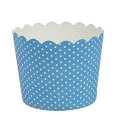 Blue Sky 1256 16 Count Scalloped Polka Dots Cupcake Baking Cups, Large, Blue -- Check out the image by visiting the link.
