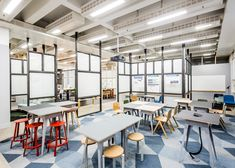 """APA designs """"raw"""" collaborative office space for Barclaycard"""