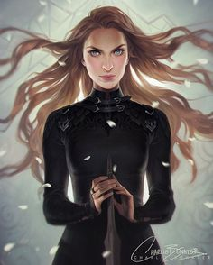 She's all done! Feyre, the Fox in the chicken coop  #ACourtofMistandFury…