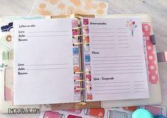 Baixe gratuitamente o kit planner semanal e mensal. Nos tamanhos A4, A5 e Personal.