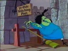 A Witch's Tangled Hare is a 1959 Warner Bros. Looney Tunes theatrical cartoon short .  The cartoon makes many references to Macbeth. - Drew Sample