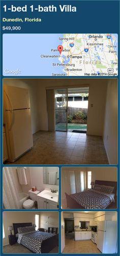 1-bed 1-bath Villa in Dunedin, Florida ►$49,900 #PropertyForSale #RealEstate #Florida http://florida-magic.com/properties/90255-villa-for-sale-in-dunedin-florida-with-1-bedroom-1-bathroom