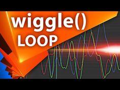 Зацикливание анимации Wiggle выражения в After Effects - AEplug 167 - YouTube