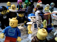 Lego Zombies are causing Chaos among the town