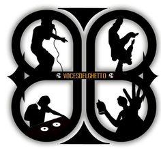 El hip hop se divide en 4 elementos el graffiti, el rap-los Mc, el breakdance y el dj