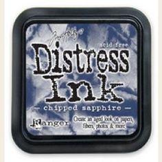 Tim Holtz Distress Ink - Chipped Sapphire