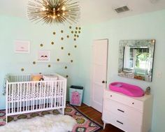 ummm... I want this room except with a king size bed instead of a crib....