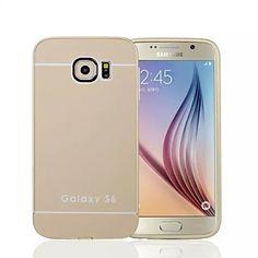 f4a098717  €3.99  Coque Pour Samsung Galaxy Samsung Galaxy Coque Antichoc Coque  Couleur unie Acrylique pour S6