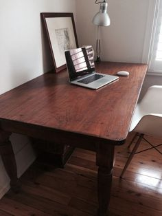 Vintage/ Antique Cedar Table Or Desk