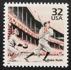 US Stamp - Celebrate the Century 1920s Babe Ruth