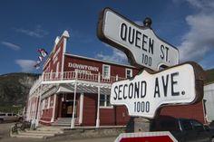 Great downtown Dawson City location.
