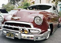 Classic #Chevy bomb in San Francisco