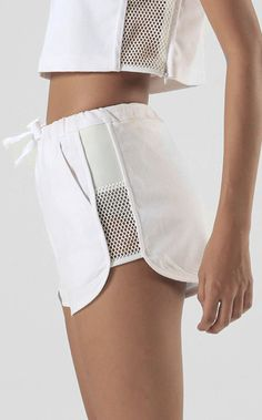 Pygmy Owl Shorts White by NunBangkok on Etsy