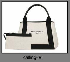 関税・送料込★BALENCIAGA★バレンシアガ トートバッグ★ 内側にスモールコットンキャンバスの取り外し可能なポケット。Balenciaga。 Parisロゴのプリントが入っています。