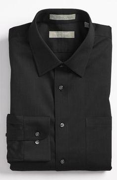 f8ba08e01 Fitted Dress Shirts, Shirt Dress, Herringbone, Nordstrom, Vest, Dresses,  Black, Jackets, Mens Tops