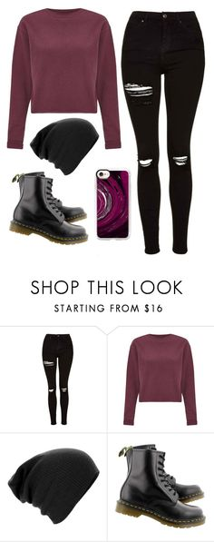 """Untitled #101"" by ejeffrey3 on Polyvore featuring Topshop, Miss Selfridge, Dr. Martens and Casetify"