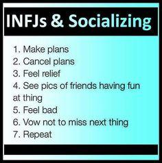 INFJ Socializing