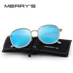 83e7b5b482f Merry S Design Women Polarized Sunglasses Fashion Sun Glasses Metal Temple  100% Uv Protection