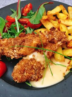 Swedish Recipes, Fried Chicken, Spicy, Curry, Brunch, Food And Drink, Pork, Cooking Recipes, Meat