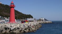 Haeundae Beach, Cheongsapo Busan South Korea, Cn Tower, Building, Beach, Travel, Gazebo, Buildings, Viajes, Traveling