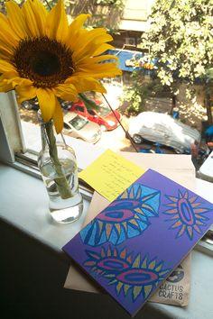 sunflower handmade notebook Handmade Notebook, Notebooks, Cactus, Table Decorations, Home Decor, Decoration Home, Room Decor, Notebook, Home Interior Design