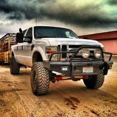 Ford Powerstroke Diesel...Because somebody has to get the work done
