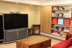 A Basement Makeover with @Vera Sweeney (Ladyandtheblog.com): Part 2 - Inspired Organization
