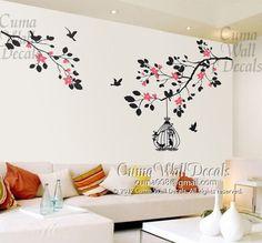 Resultado de imagen para wall decoration real branches