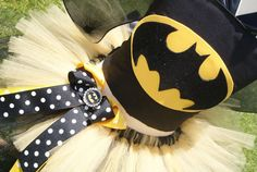 BATGIRL HALLOWEEN COSTUME superhero custom birthday tutu set 6months to 6 years on Etsy, $57.00
