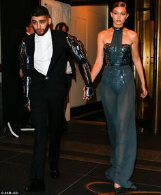 The Holy Grail of fashion? It remains to be seen whether the couple's coordinated look wil...