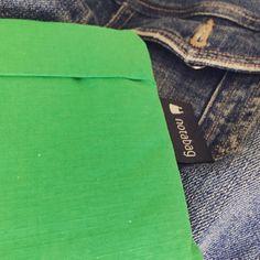 Verde que te quiero verde. Sabéis que tenemos nuevos colores de notabag? #notabag #bolsas #bolsas #onthegostyle #spring #primavera