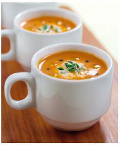 Rancho La Puerta Spa Butternut Squash Soup - so wonderful!