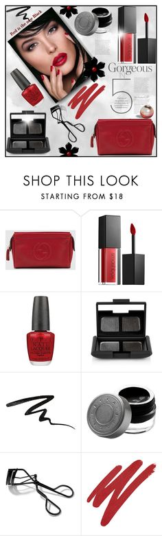 """""""Beauty"""" by truthjc ❤ liked on Polyvore featuring beauty, Christian Dior, Gucci, Smashbox, OPI, NARS Cosmetics, Stila, Becca and Bobbi Brown Cosmetics"""