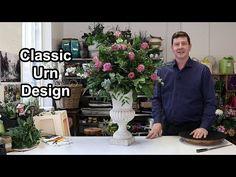 How To Arrange Flowers: Perimeter Urn Arrangement! - YouTube